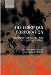 The European Corporation: Strategy, Structure and Social Science